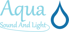 Aqua Sound and Light logo
